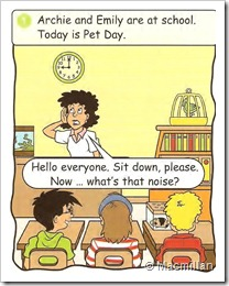 Archie's pet